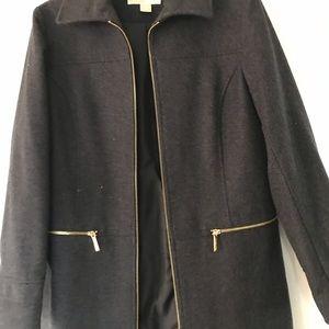 Michael KORS Coat Charcoal Color Sz M